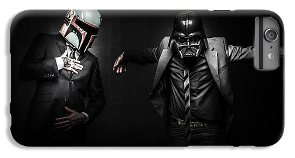 Star iPhone 6s Plus Case - Starwars Suitup by Marino Flovent