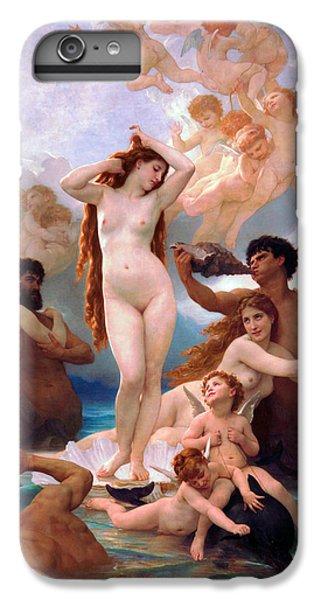 Venus Williams iPhone 6s Plus Case - The Birth Of Venus by William-Adolphe Bouguereau