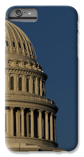 Capitol Building iPhone 6s Plus Case - The West Side Of The United States by Dennis Brack