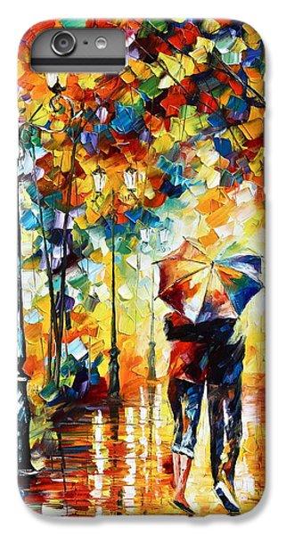 Umbrella iPhone 6s Plus Case - Under One Umbrella by Leonid Afremov