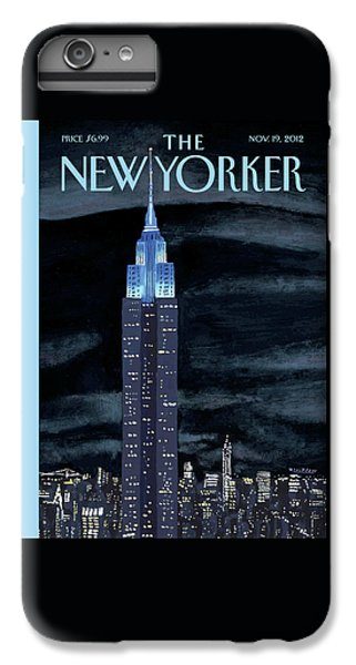 Empire State Building iPhone 6s Plus Case - New Yorker November 19th, 2012 by Mark Ulriksen
