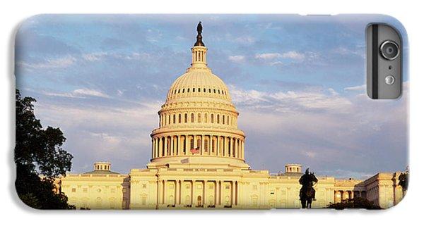 Capitol Building iPhone 6s Plus Case - Usa, Washington Dc, Capitol Building by Walter Bibikow