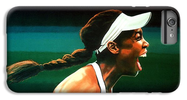 Serena Williams iPhone 6s Plus Case - Venus Williams by Paul Meijering