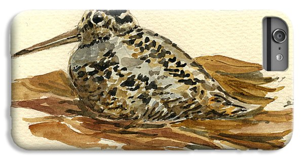 Woodcock IPhone 6s Plus Case by Juan  Bosco