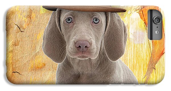 Weimaraner Collection IPhone 6s Plus Case by Marvin Blaine