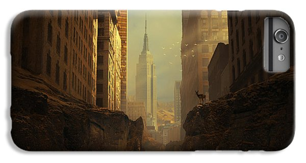 Empire State Building iPhone 6s Plus Case - 2146 by Michal Karcz