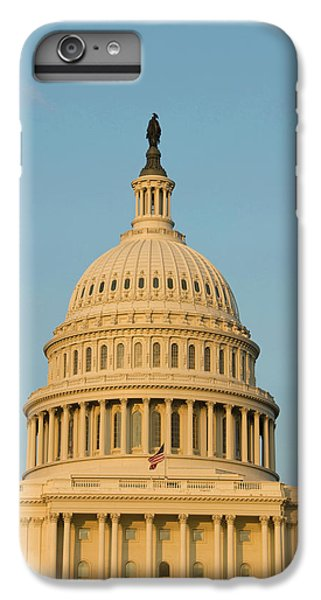 Capitol Building iPhone 6s Plus Case - Washington Dc, Usa by Lee Foster