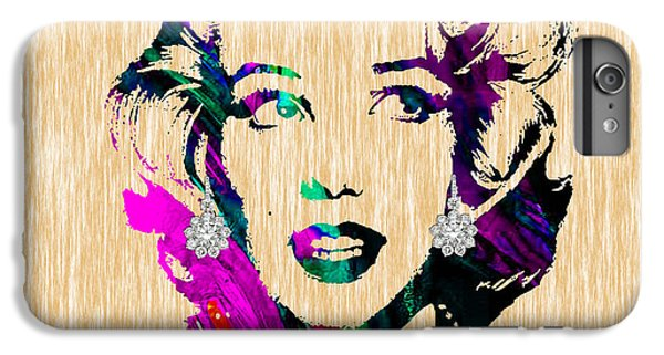 Marilyn Monroe Diamond Earring Collection IPhone 6s Plus Case