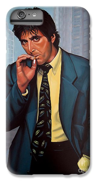 Al Pacino 2 IPhone 6s Plus Case by Paul Meijering