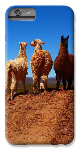 Llama iPhone 6s Plus Case - 3 Amigos by FireFlux Studios