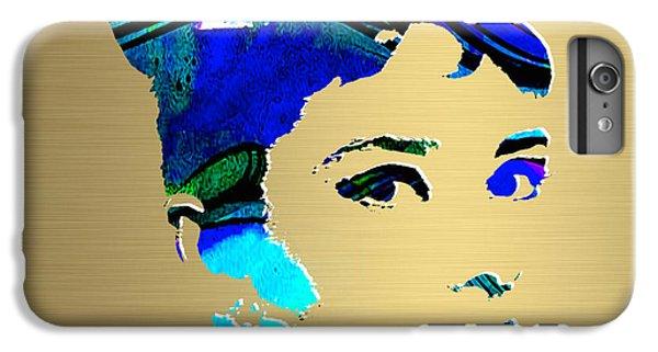 Audrey Hepburn Gold Series IPhone 6s Plus Case by Marvin Blaine