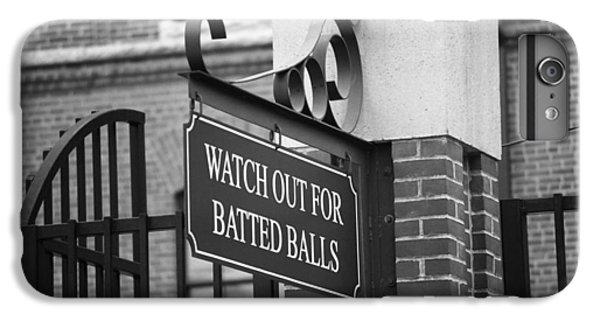 Baseball Warning IPhone 6s Plus Case by Frank Romeo