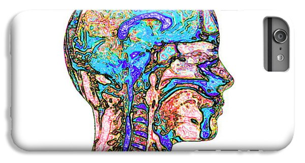 Spines iPhone 6s Plus Case - Brain And Spinal Cord by Mehau Kulyk
