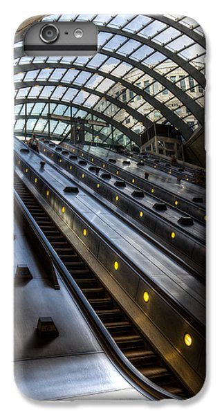Canary Wharf Station IPhone 6s Plus Case by David Pyatt