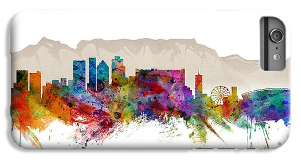Town iPhone 6s Plus Case - Cape Town South Africa Skyline by Michael Tompsett