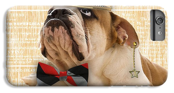 English Bulldog Bowtie Collection IPhone 6s Plus Case by Marvin Blaine