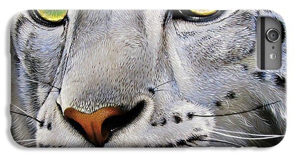 Snow Leopard IPhone 6s Plus Case by Jurek Zamoyski
