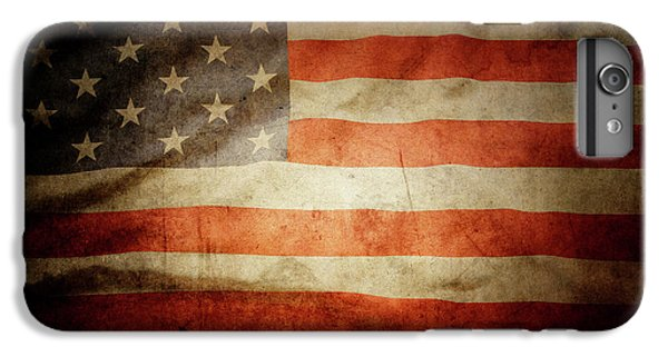 Landmarks iPhone 6s Plus Case - American Flag 48 by Les Cunliffe
