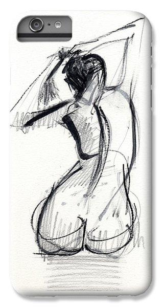 Nudes iPhone 6s Plus Case - Rcnpaintings.com by Chris N Rohrbach