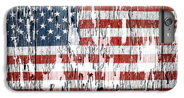 Landmarks iPhone 6s Plus Case - American Flag 49 by Les Cunliffe
