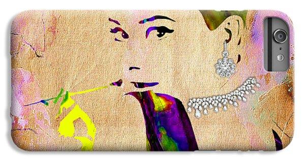 Audrey Hepburn Diamond Collection IPhone 6s Plus Case by Marvin Blaine
