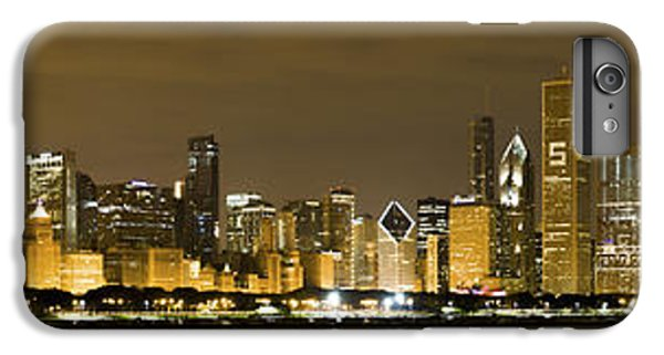 Chicago Skyline At Night IPhone 6s Plus Case by Sebastian Musial