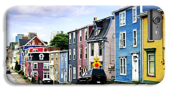 Town iPhone 6s Plus Case - Colorful Houses In St. John's by Elena Elisseeva