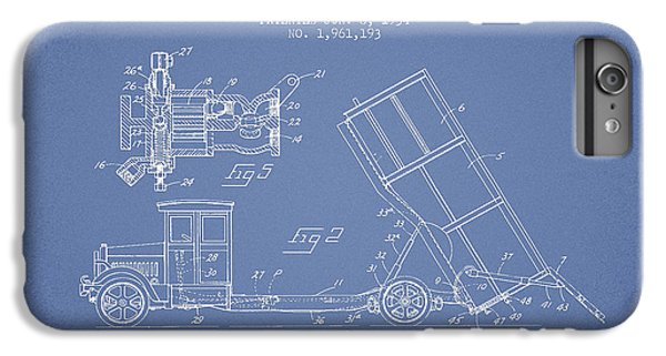 Dump Truck Patent Drawing From 1934 IPhone 6s Plus Case by Aged Pixel