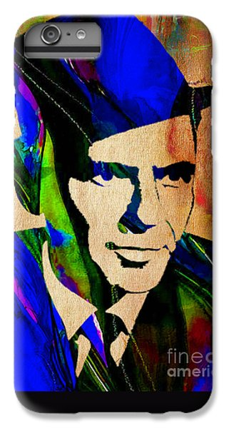 Frank Sinatra Painting IPhone 6s Plus Case by Marvin Blaine