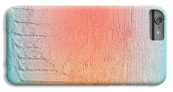 Space iPhone 6s Plus Case - Grunge Retro Vintage Paper Texture by Leksustuss