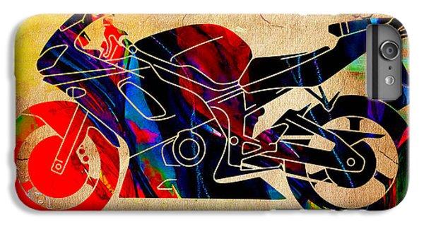 Ninja Motorcycle Art IPhone 6s Plus Case by Marvin Blaine
