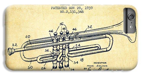 Vinatge Trumpet Patent From 1939 IPhone 6s Plus Case
