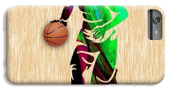 Basketball IPhone 6s Plus Case by Marvin Blaine