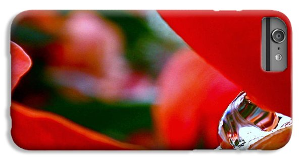 Roses After The Rain IPhone 6s Plus Case by Rona Black