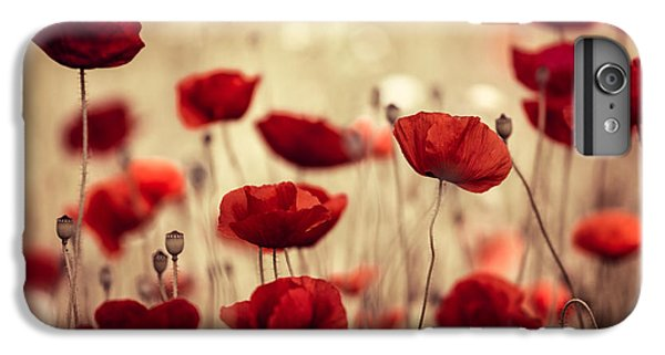 Summer Poppy IPhone 6s Plus Case by Nailia Schwarz