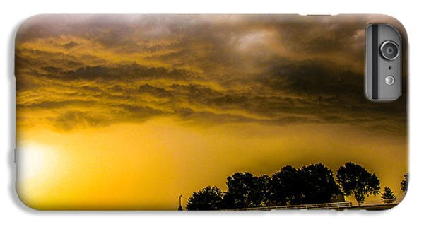 Nebraskasc iPhone 6s Plus Case - Late Afternoon Nebraska Thunderstorms by NebraskaSC