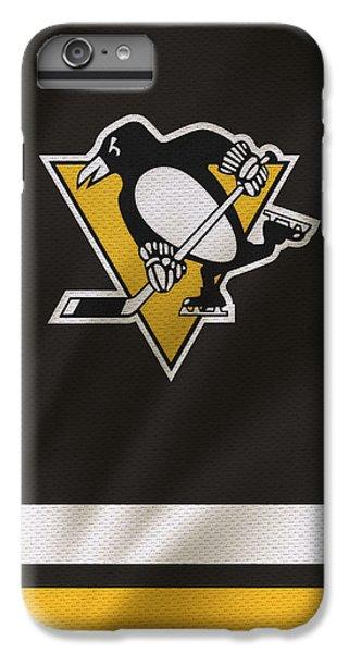 Hockey iPhone 6s Plus Case - Pittsburgh Penguins by Joe Hamilton