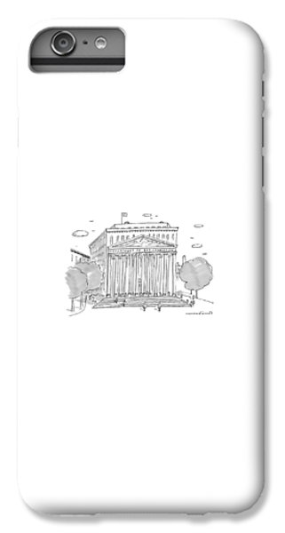 Washington D.c iPhone 6s Plus Case - A Building In Washington Dc Is Shown by Michael Crawford