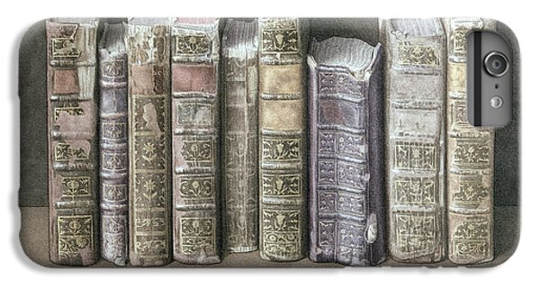 Spines iPhone 6s Plus Case - A Fine Library by Jonathan Wolstenholme