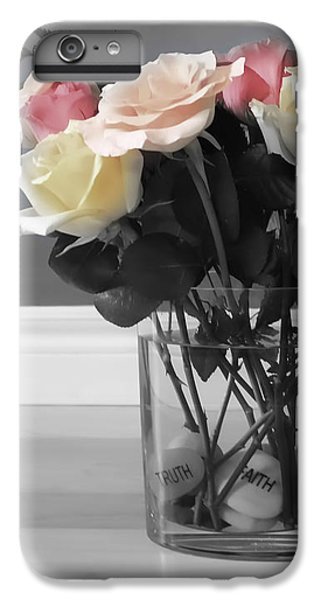 Rose iPhone 6s Plus Case - A Foundation Of Love by Cathy Beharriell