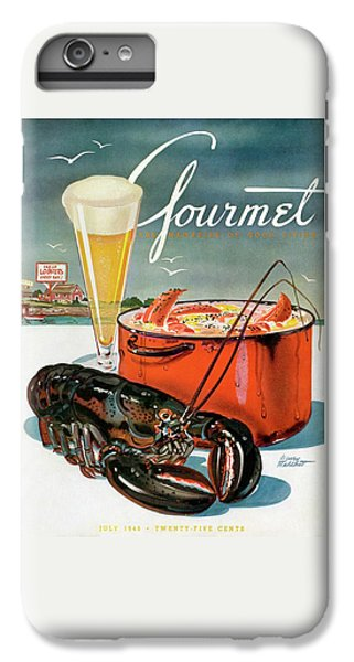 A Lobster And A Lobster Pot With Beer IPhone 6s Plus Case