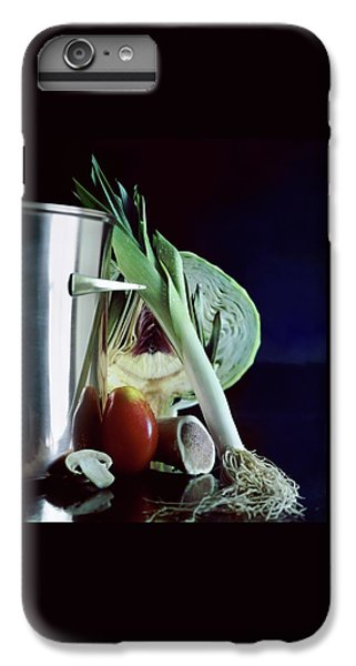 Cabbage iPhone 6s Plus Case - A Pot With Assorted Vegetables by Fotiades
