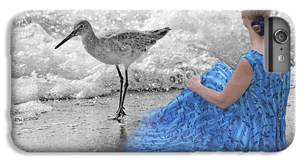 Sandpiper iPhone 6s Plus Case - A Sandpiper's Dream by Betsy Knapp