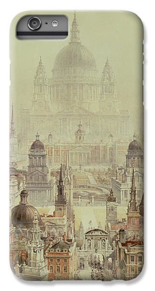 Wren iPhone 6s Plus Case - A Tribute To Sir Christopher Wren by Charles Robert Cockerell