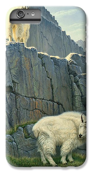 Goat iPhone 6s Plus Case - Above And Beyond by Paul Krapf