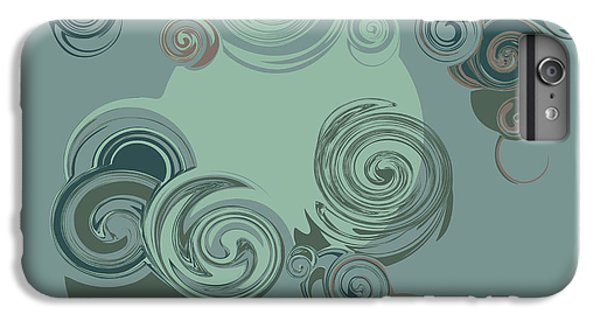 Fairy iPhone 6s Plus Case - Abstract Circles Pattern Background by Castecodesign