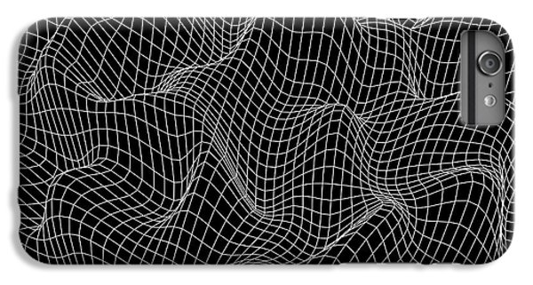 Space iPhone 6s Plus Case - Abstract Wave Background. Vector Design by Beliavskii Igor