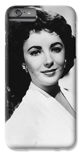 Actress Elizabeth Taylor IPhone 6s Plus Case by Underwood Archives