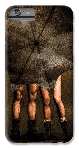 Umbrella iPhone 6s Plus Case - Adam And Eve by Bob Orsillo
