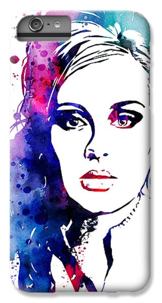 Adele IPhone 6s Plus Case by Watercolor Girl